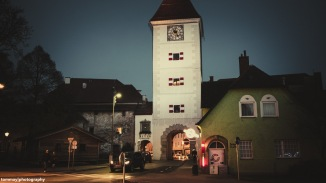 Evening in Wels